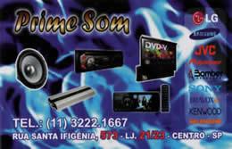 2912d1f6e Prime Som | Lojas da Santa Efigênia